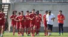 منتخب الناشئين يتعادل مع أوزبكستان بالتصفيات الآسيوية