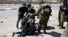 شرطة الاحتلال تعتدي بالضرب على شاب قرب بلدة سلواد