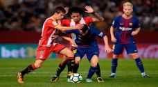 برشلونة يهزم جيرونا بأقل مجهود ويواصل العلامة الكاملة