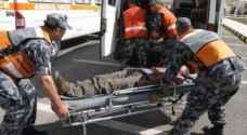 الدفاع المدني: ٧١ اصابة بحوادث الخميس