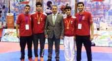 ميداليتان للأردن في بطولة فلسطين الدولية للتايكواندو
