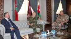 فريحات يستقبل قائد الجيش اللبناني