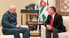 الملك يستقبل قائد الجيش اللبناني
