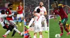 حظوظ تونس ومصر والمغرب بالوصول لمونديال روسيا