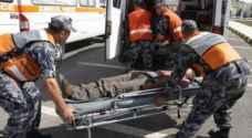 وفاة وإصابة بحادث إنهيار في عمان