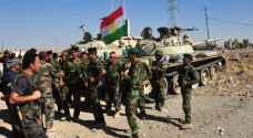 قوات البشمركة الكردية تقطع الطرق الرئيسية بين كردستان والموصل