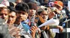 ١١ ألف هندي في الأردن
