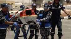 وفاة و٧ إصابات بحادث سير في معان