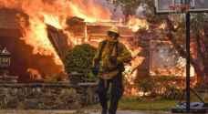 ارتفاع حصيلة الحرائق بكاليفورنيا الى ٣٨ قتيلا
