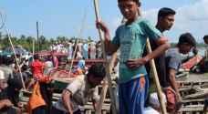 ٥ قتلى وعشرات المفقودين في غرق مركب للروهينغا