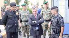 الملك يزور قيادة الشرطة الخاصة