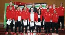 اللجنة الأولمبية تُكرم أصحاب الانجاز في 'عشق آباد'