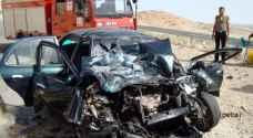 ١٥ اصابة بحادثي سير في الزرقاء ومادبا