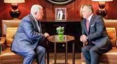 الملك لعباس: الأردن مستمر بالقيام في حماية المقدسات الإسلامية