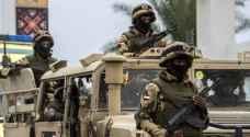 الجيش المصري يقتل ٦ إرهابيين شمال سيناء