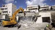 الاحتلال يهدم ٤ بركسات لفلسطينيين غرب جنين