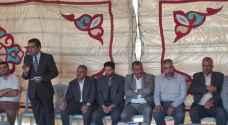 عطوة صلح بين معلمين وأولياء أمور في مدرسة المرقب الثانوية ..صور