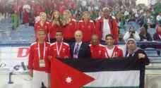 ثلاث ذهبيات وبرونزيتان .. حصاد 'الناشئين والناشئات' بالبطولة العربية لألعاب القوى