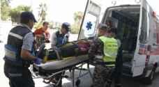 الدفاع المدني: ٨٥ إصابة نتيجة ١٢٩ حادثا مختلفا