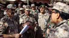 انطلاق فعاليات التمرين العسكري السعودي الأردني المشترك