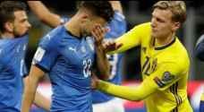 السويد تحرم ايطاليا من الوصول لكأس العالم ٢٠١٨