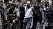 الاحتلال يشن حملة اعتقالات في القدس طالت ١٦ شابا