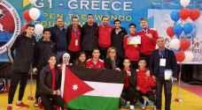 منتخب التايكواندو يواصل تألقه في بطولة اليونان