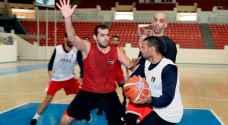 منتخب السلة يواصل تحضيراته لتصفيات كأس العالم ٢٠١٩