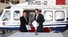 اتفاقية شراكة بين رؤيا ومركز الإسعاف الجوي.. صور