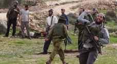 استشهاد فلسطيني برصاص مستوطنين جنوب نابلس