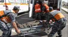 الدفاع المدني: ٥٦ إصابة خلال الـ ٢٤ ساعة الماضية