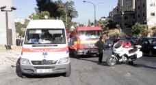 ٩ إصابات بحادثين منفصلين في الزرقاء والمفرق