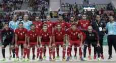 القرعة تضع منتخب الصالات في مجموعة متوازنة في كأس آسيا
