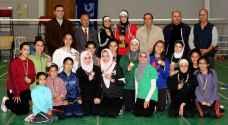 نادي المدينة بحقق لقب بطولة أندية السيدات للريشة الطائرة