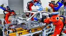 الروبوت يطرد البشر من صناعة المركبات