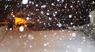صورة من المنخفض الجوي - كانون الثاني