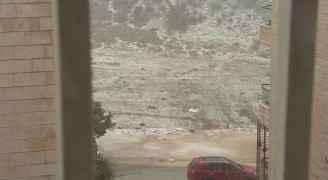 صورة من الاحوال الجوية في الأردن 16 شباط 2017