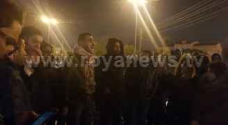وقفة احتجاجية أمام السفارة الامريكية بعمان تنديداً بقرار ترمب