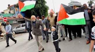 مسيرات في الضفة رفضا لقرار ترمب