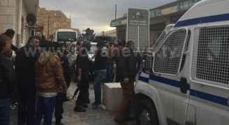 انباء عن وجود محاصرين داخل قلعة الكرك