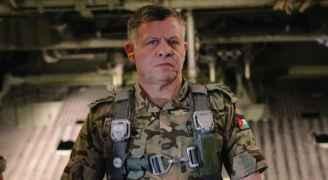الملك يؤكد قدرة الأردن على القضاء على الإرهاب وعصاباته الإجرامية