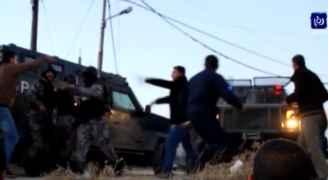 بالفيديو: لقطات حصرية جديدة للمداهمة الأمنية في الكرك