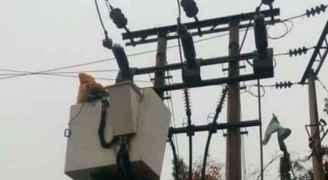 كهرباء اربد تتعامل مع 556 عطل كهربائي خلال المنخفض