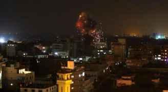 اصابات بغارات جوية للاحتلال على غزة