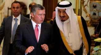 الملك إلى السعودية الثلاثاء للقاء الملك سلمان وولي عهده