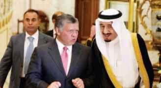 الملك والعاهل السعودي يبحثان التطورات في القدس وقرار ترمب