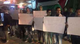 وقفة تضامنية مع القدس في مخيم إربد.. صور