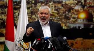 هنية: الشعب الفلسطيني سيسقط قرار ترمب