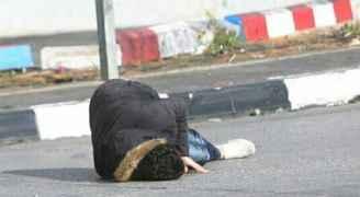 استشهاد فلسطيني على مدخل البيرة الشمالي