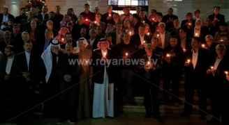 وقفة احتجاجية للطوائف المسيحية 'دعما للقدس' في العقبة.. صور